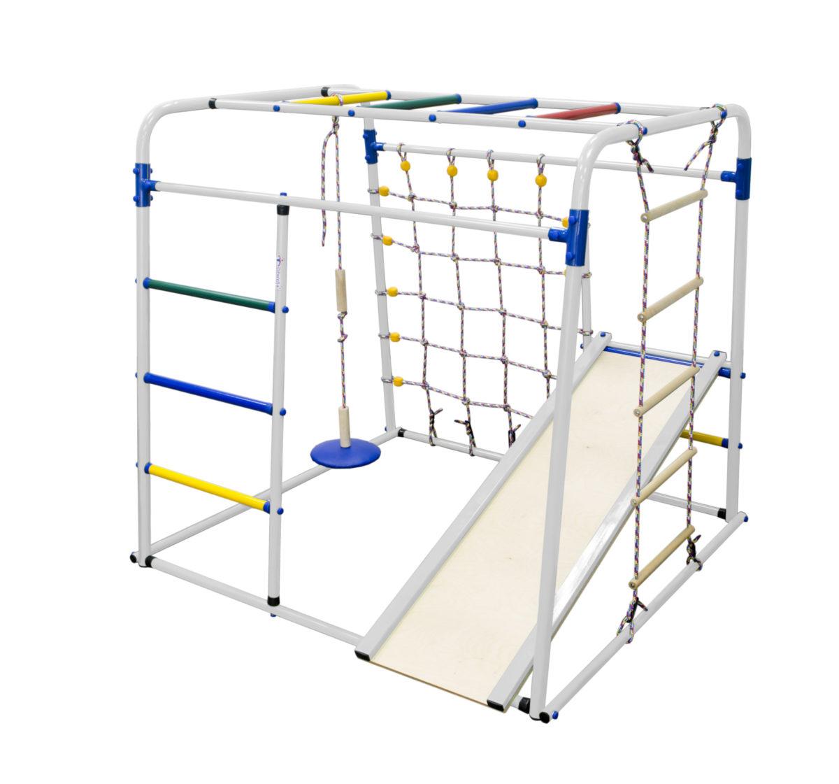 Детский спортивный комплекс Формула здоровья Start baby 1 плюс белый/радуга
