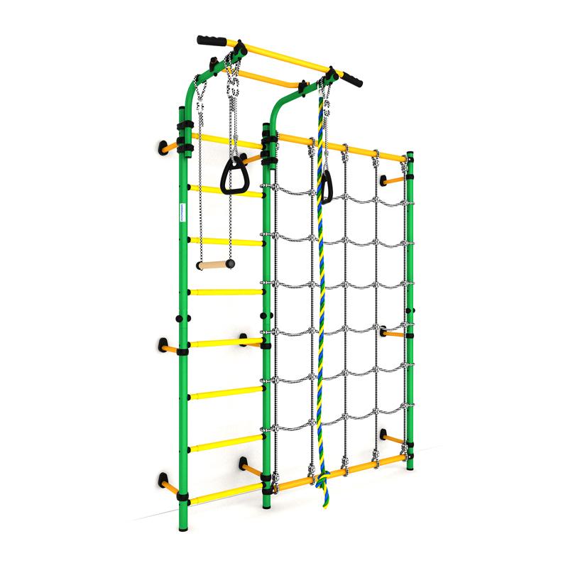 """ДСКМ """"Карусель S3"""" (ДСКМ-3С-8.06.Г1.490.01-28) зелёно/жёлтый"""