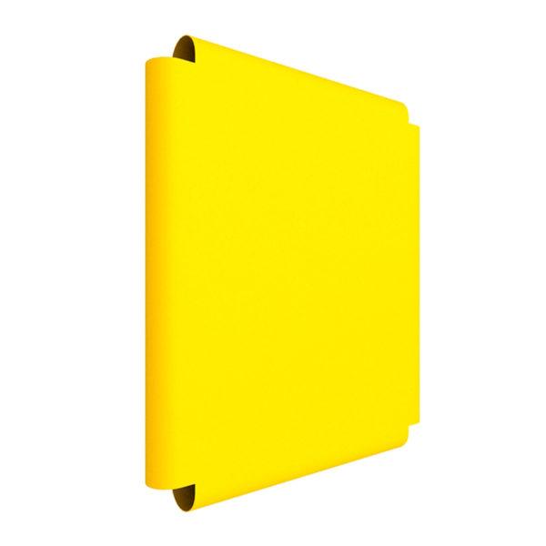 Элемент мягкой формы на ДСК 2-х сторонний на  3 ступ. (жёлтый) 410 мм ДМФ-ЭЛК-14.66.02