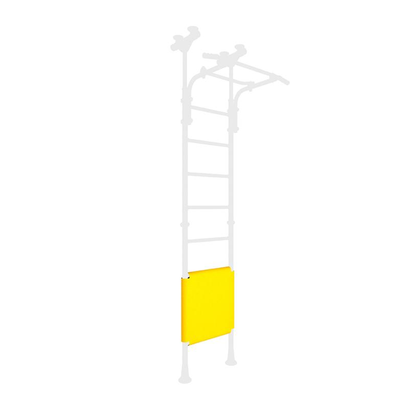 Элемент мягкой формы на ДСК 2-х сторонний на  3 ступ. (жёлтый) 490 мм ДМФ-ЭЛК-14.66.01