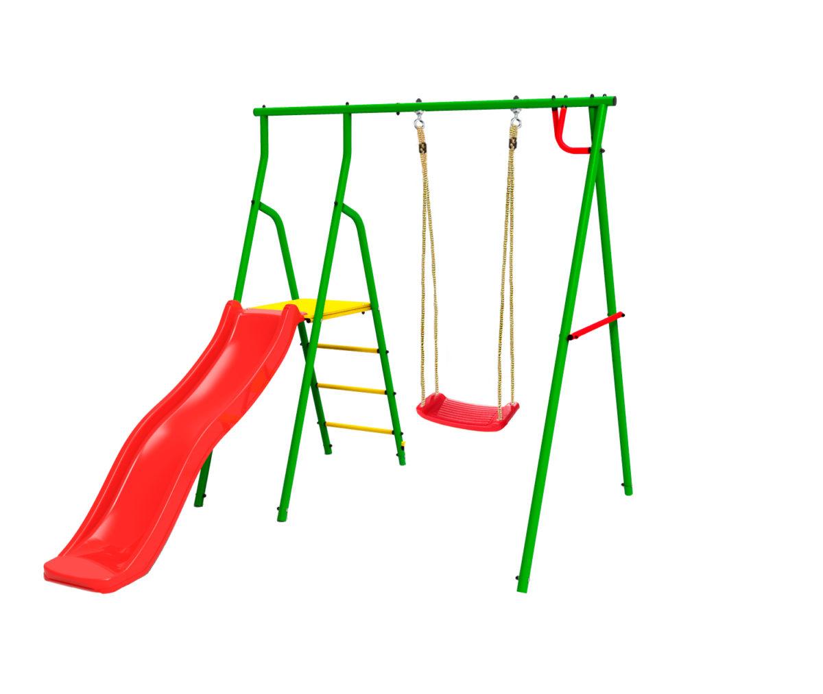 Спортивно-игровой комплекс Kampfer Alpen Swing (Пластиковые навесные качели)