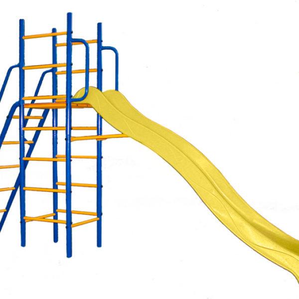 Спортивно-игровой комплекс Kampfer Super Descent (желтый)