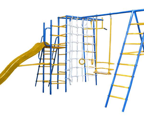 Спортивно-игровой комплекс Kampfer Total Playground (желтый)