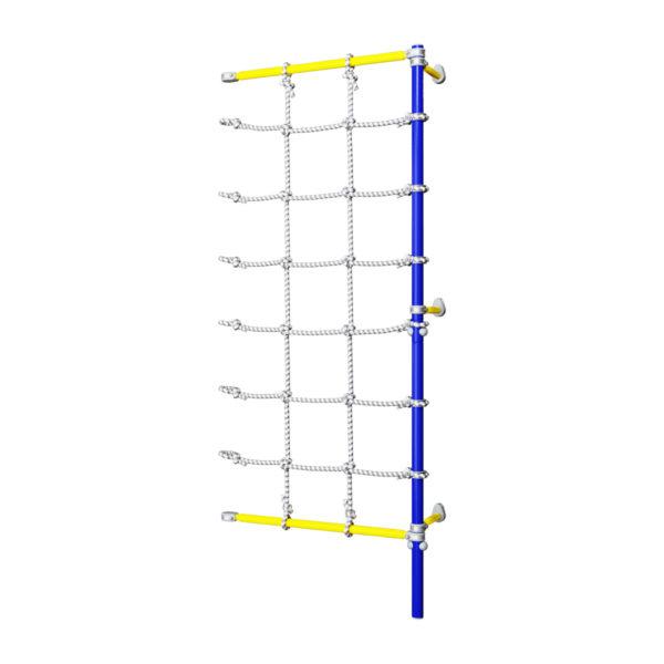 Комплект с канатным лазом пристенный Romana Dop7 (6.18.00-45) синяя слива