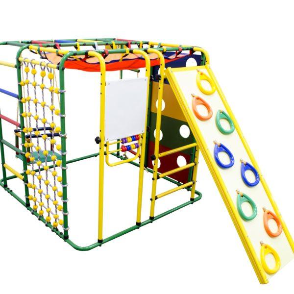 Спортивный комплекс Формула здоровья Кубик У Плюс зелёный/радуга