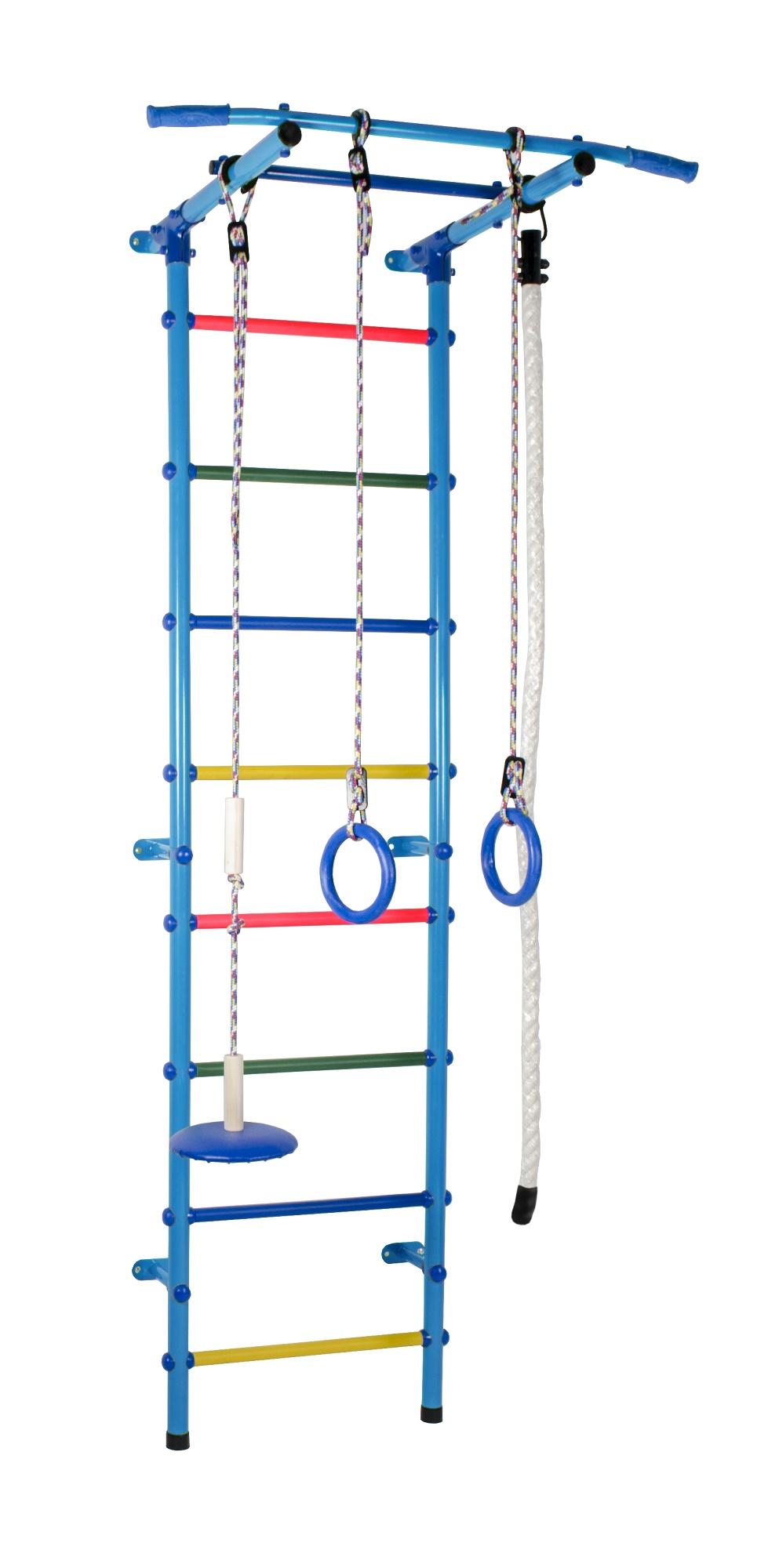 Спортивный комплекс Формула здоровья Start 1 голубой/радуга