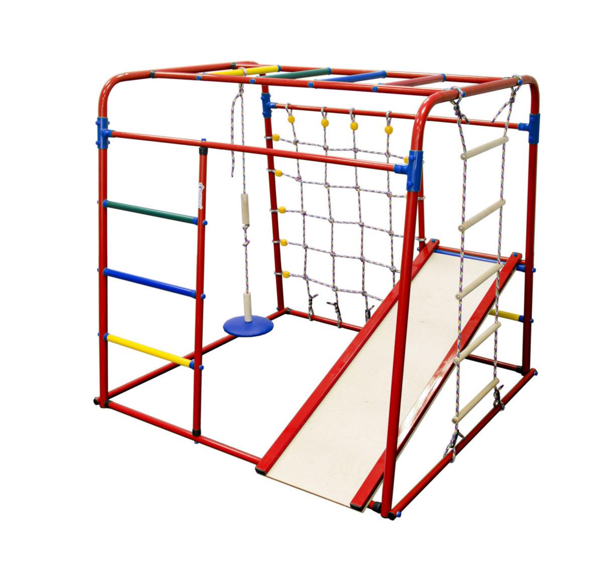 Спортивный комплекс Формула здоровья Start baby 1 Плюс красный/радуга