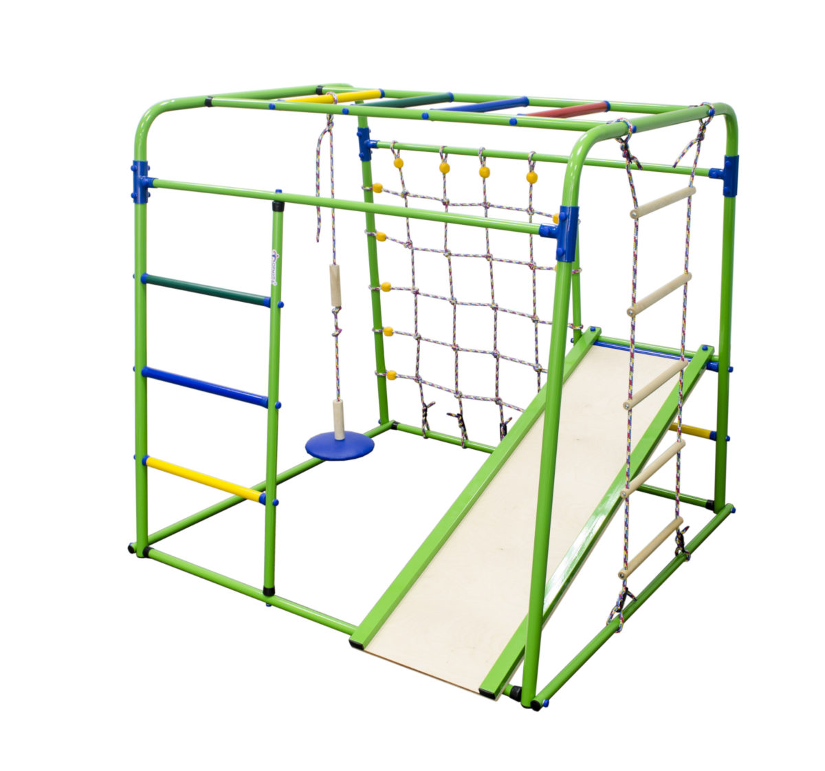 Спортивный комплекс Формула здоровья Start baby 1 Плюс салатовый/радуга
