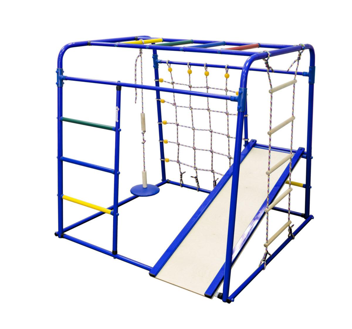 Спортивный комплекс Формула здоровья Start baby 1 Плюс синий/радуга