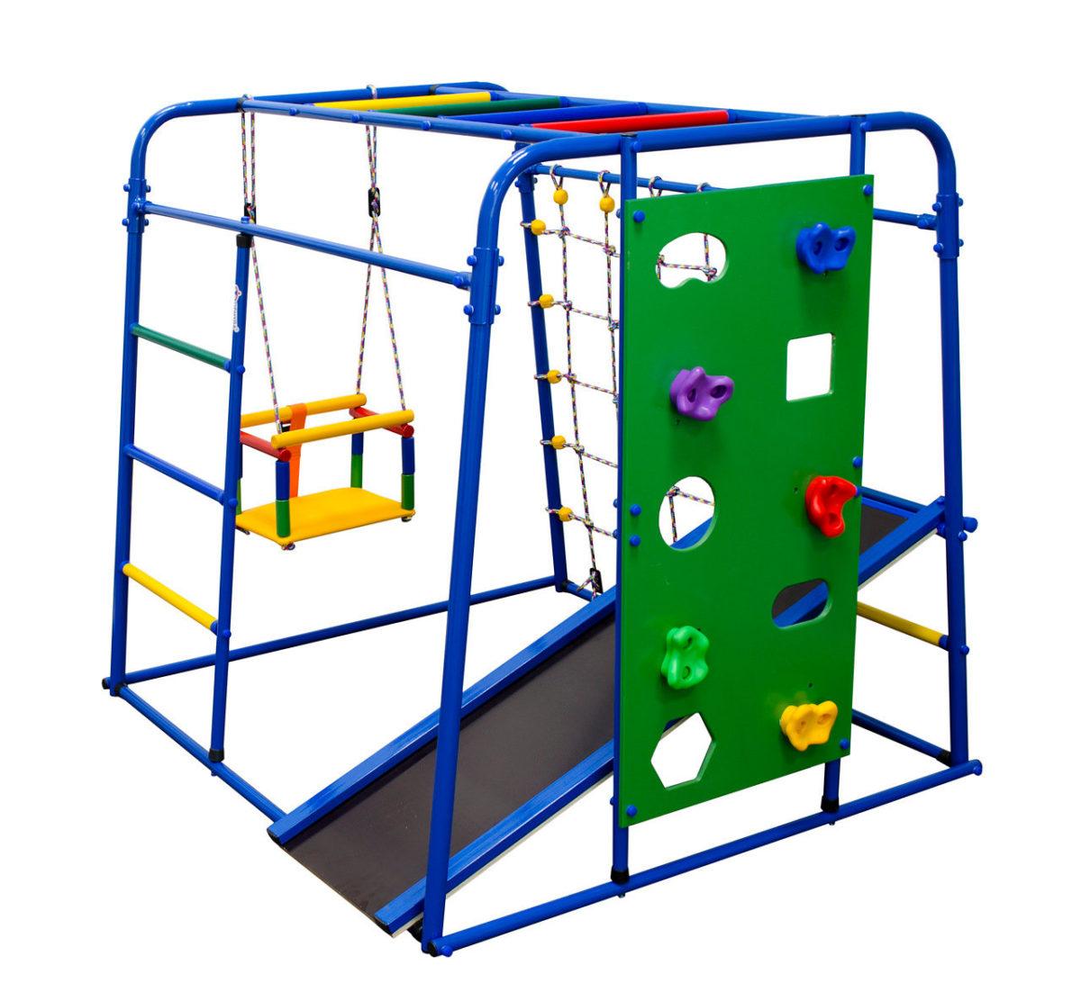 Спортивный комплекс Формула здоровья Start baby 2 Плюс синий/радуга