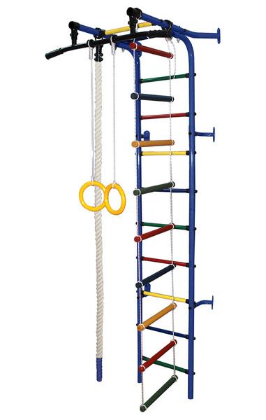 Спортивный комплекс Формула здоровья Жирафик-1А Плюс синий/радуга